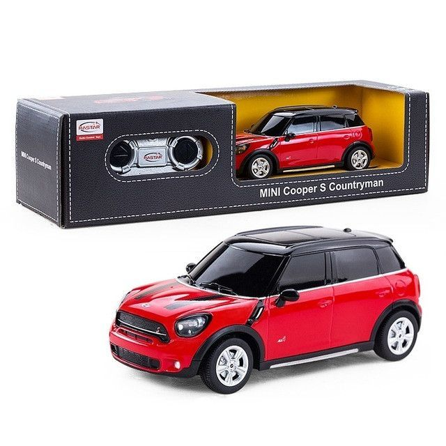 S Remote Control Car Rastar Electric Rc 1 24 Radio Controlled Toys Boys Gifts Kids Mini Cooper Countryman 71700 Products Pinterest