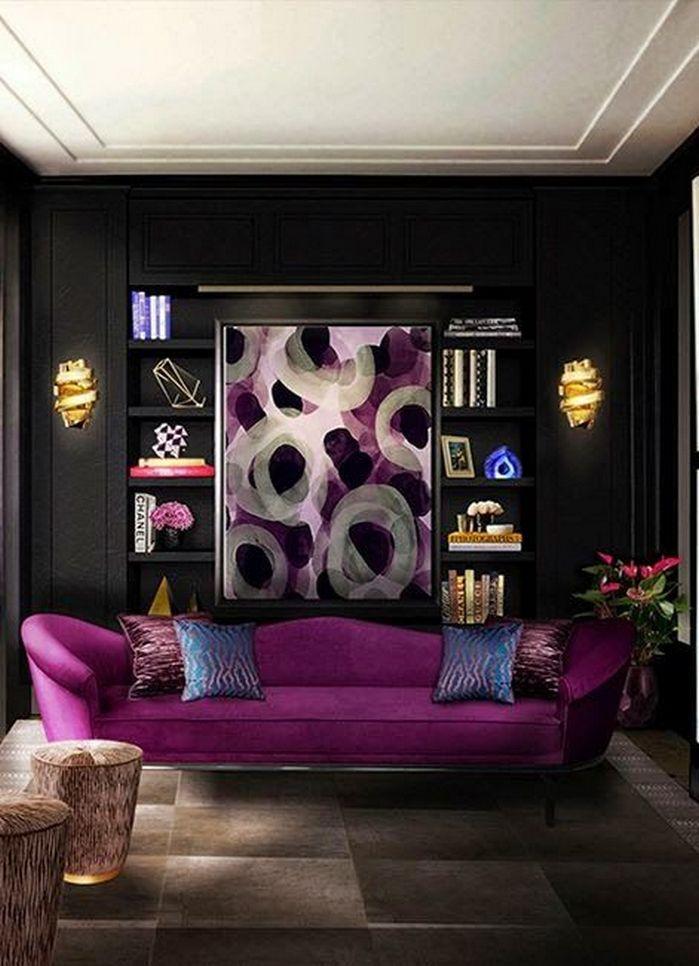50+ Dramatic Living Room Ideas_50