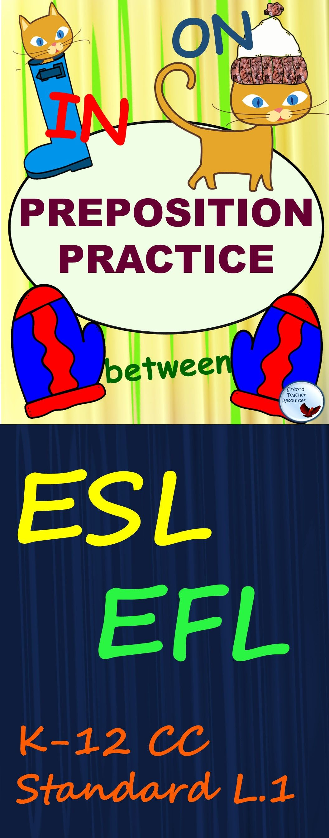 Esl Newcomer Activities Prepositions Efl Special Education