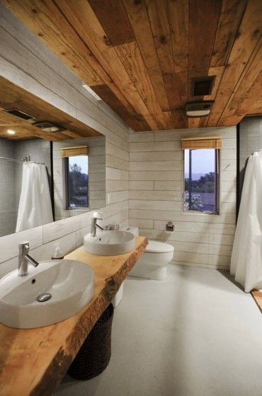 Planos de cabaña moderna de dos pisos | Arquitec-tura | Pinterest ...
