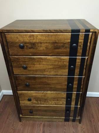 Refinished Ethan Allen Highboy Dresser Found On Craigslist Ad Dresser Decor Home Decor