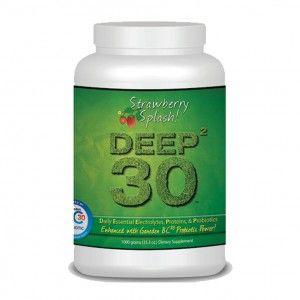 deep-30 Goat's Milk Whey With Probiotics Protein Powder Blend