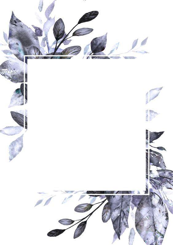 Pin By Elaf On Shablon Flower Background Wallpaper Framed Wallpaper Flower Frame
