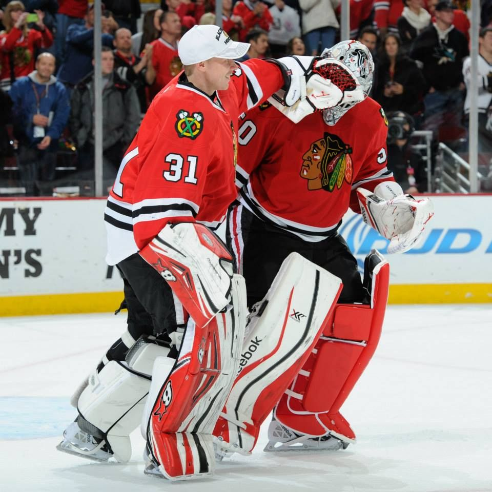 I think this is the beginning of a beautiful friendship! #crawford #raanta