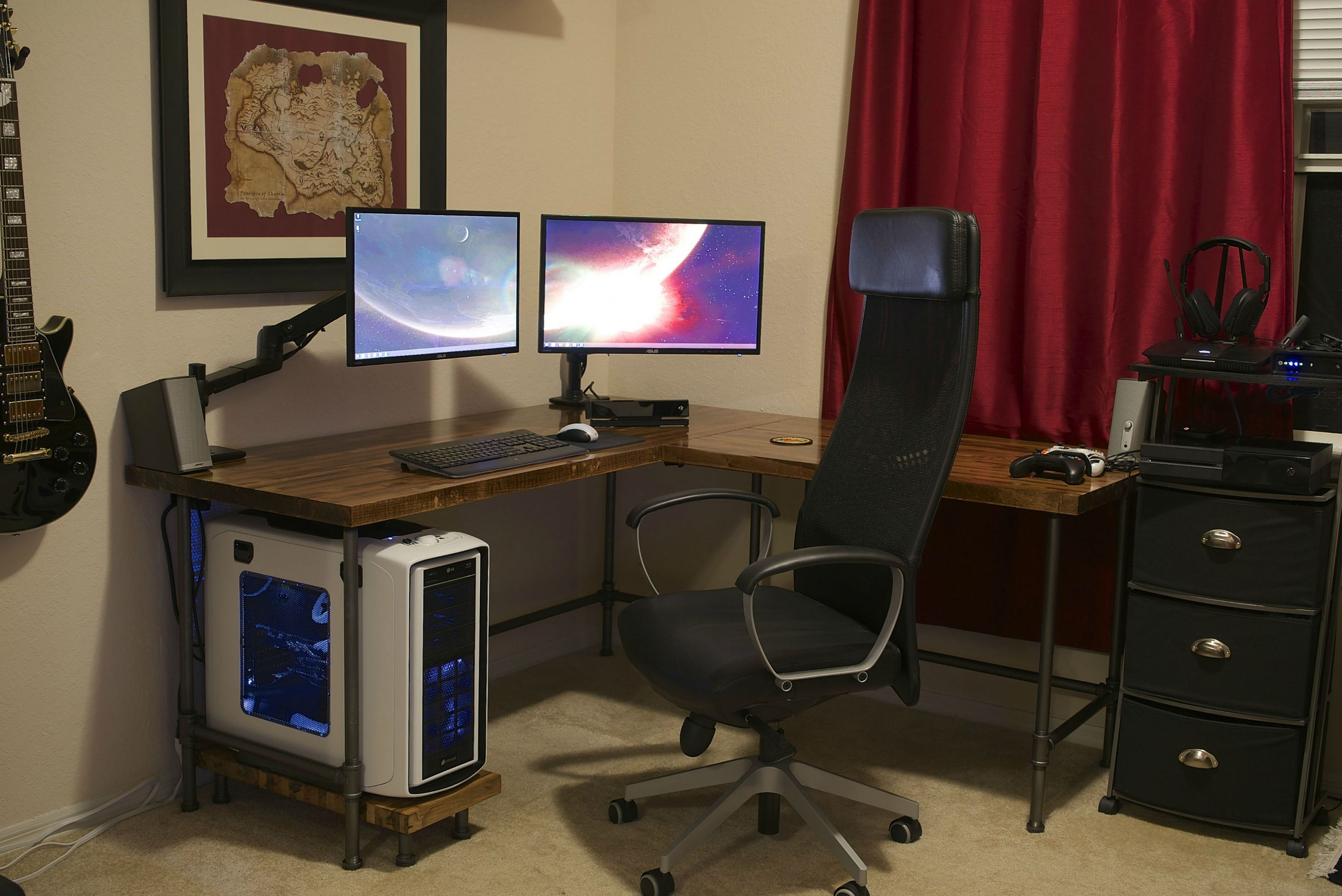 99 custom corner desk executive home office furniture