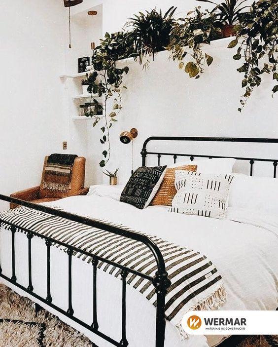 Quarto Tumblr Plantas Quarto Tumblr Plantas Decor Dormitorios Femininos Decoracao Quarto Simples Decoracao De Quarto