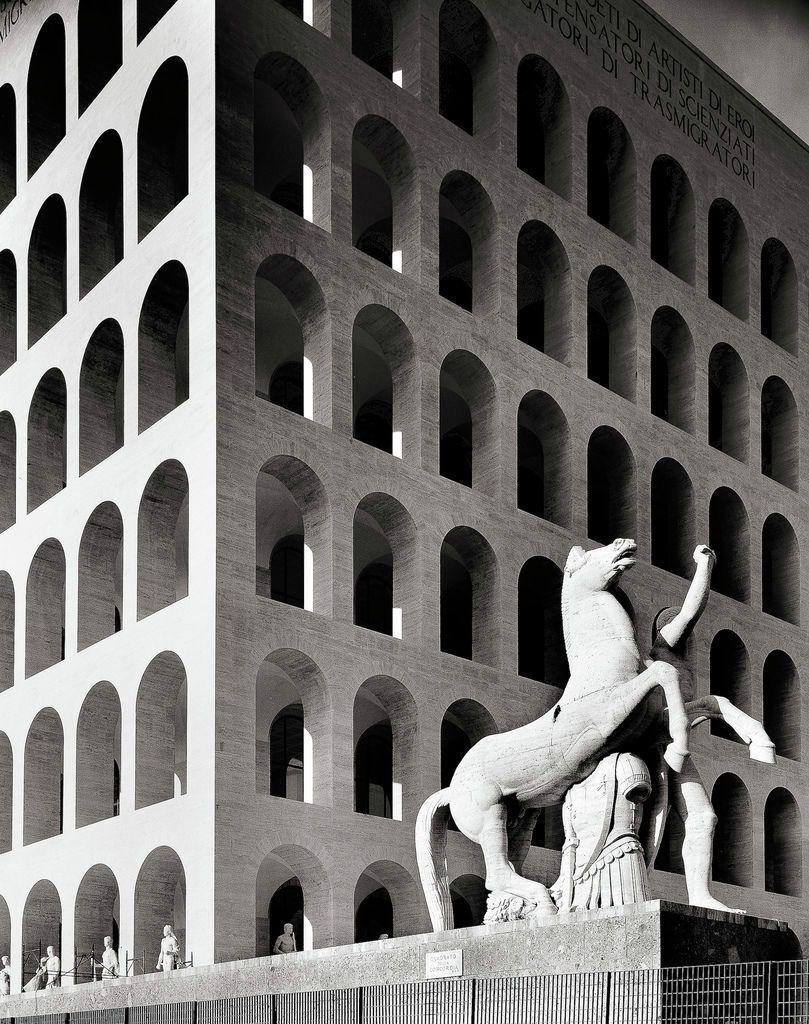 Fendi Fashion House Relocates To The Palazzo Della Civilta Italiana In Rome Brutalist Architecture Italian Architecture Architecture