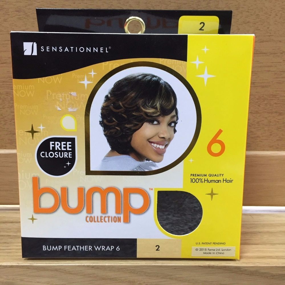 Sensationnel Bump Collection Bump Feather Wrap 6 Inch Hair