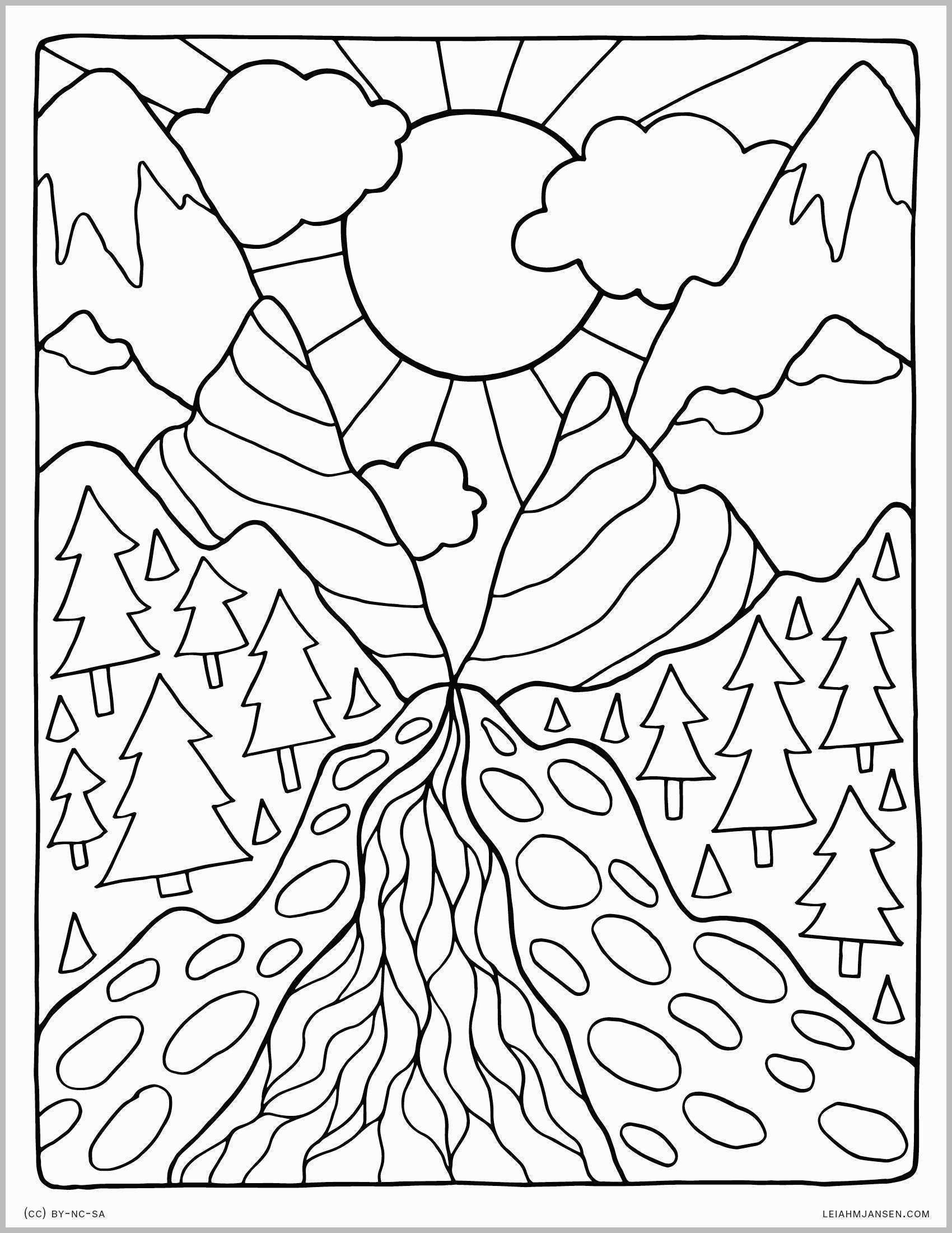 Landscape Coloring Book Fresh Coloring Pages Best Of Coloring