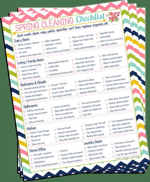 Photo of Checkliste für die Hausinstandhaltung zum Ausdrucken • Ordentliches Haus. Sweet Home®