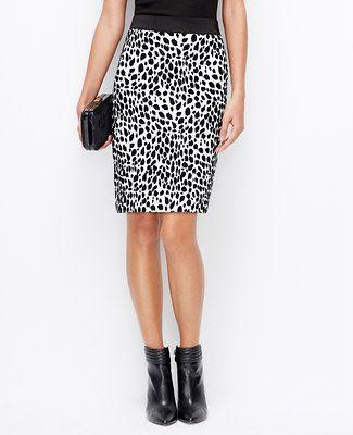 3de509b93d Cheetah Pencil Skirt