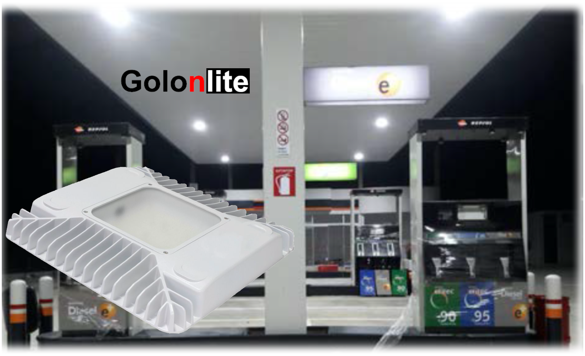 Led Canopy Light For Gas Station 150w 120w 100w To Repalce 400w 500w Hps Halogen Lamp 100 277vac Sensor Call Me Now Oli Canopy Lights Lamp Contemporary Lamps