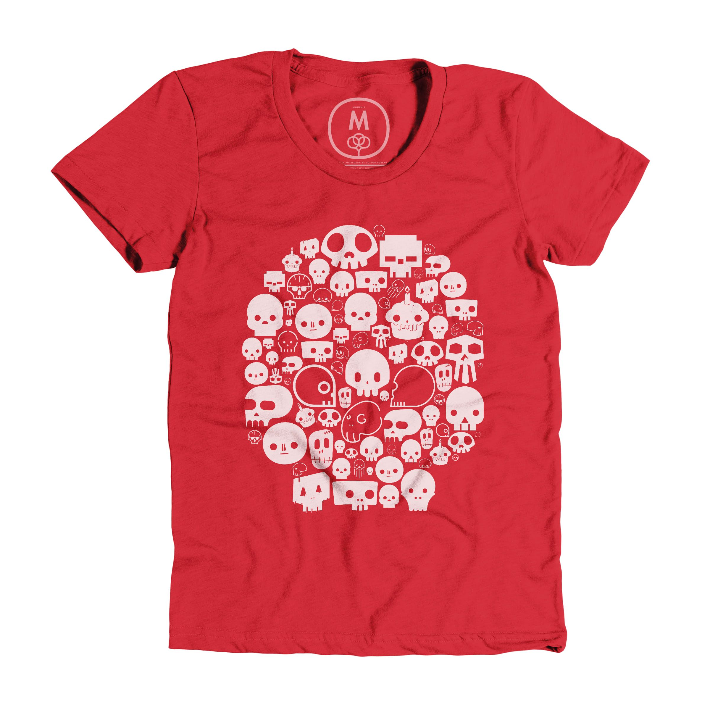 Skull of Skulls Red (Women's)