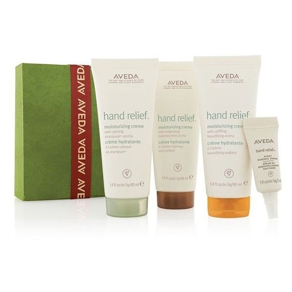Aveda 'A Gift of Renewal for Your Journey' Set (€25) ❤ liked on Polyvore featuring beauty products, gift sets & kits, no color and aveda