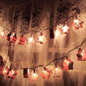 How to make a Christmas starlight garland via @Guidecentral - Visit www.guidecentr.al for more #DIY #tutorials