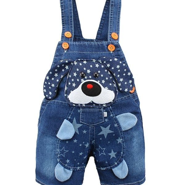 Kidscool Baby /& Little Girls Rabbit Casual Soft Denim Overalls Jeans