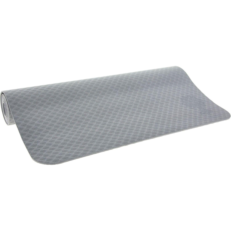 Grey Extra Long Yoga Mat 61x182cm Extra Long Yoga Mat Yoga Mat Workout Accessories