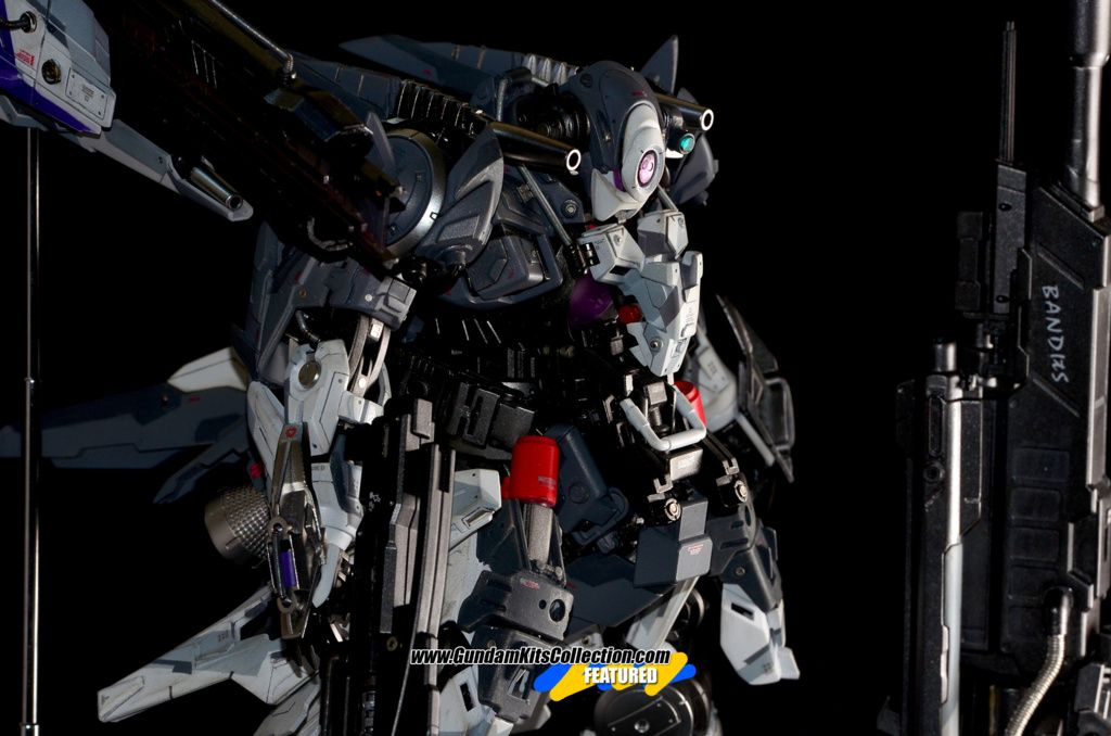 Custom Build: MG 1/100 ESF GNX 606T Dominator - Gundam Kits Collection News and Reviews