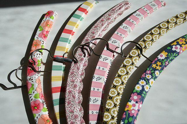 vintage clothes hangers by katisworld, via Flickr
