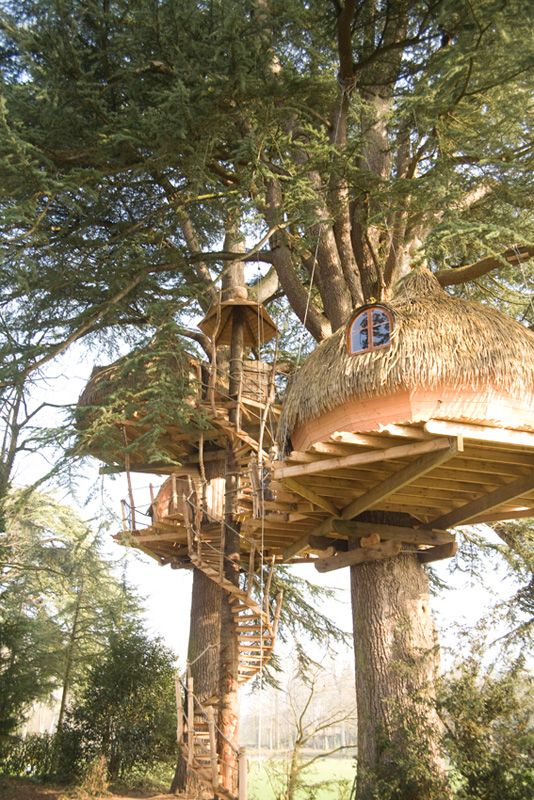 la cabane dans les arbres tribu pour 9 personnes 5 et 9. Black Bedroom Furniture Sets. Home Design Ideas