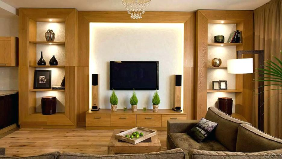 Living Room Contemporary Wall Cabinet Wowhomy