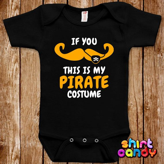 Baby Shower Gift Baby Gift Pirate Baby Bodysuit Pirate One Piece Boy Bodysuit Baby One Piece Baby Bodysuit