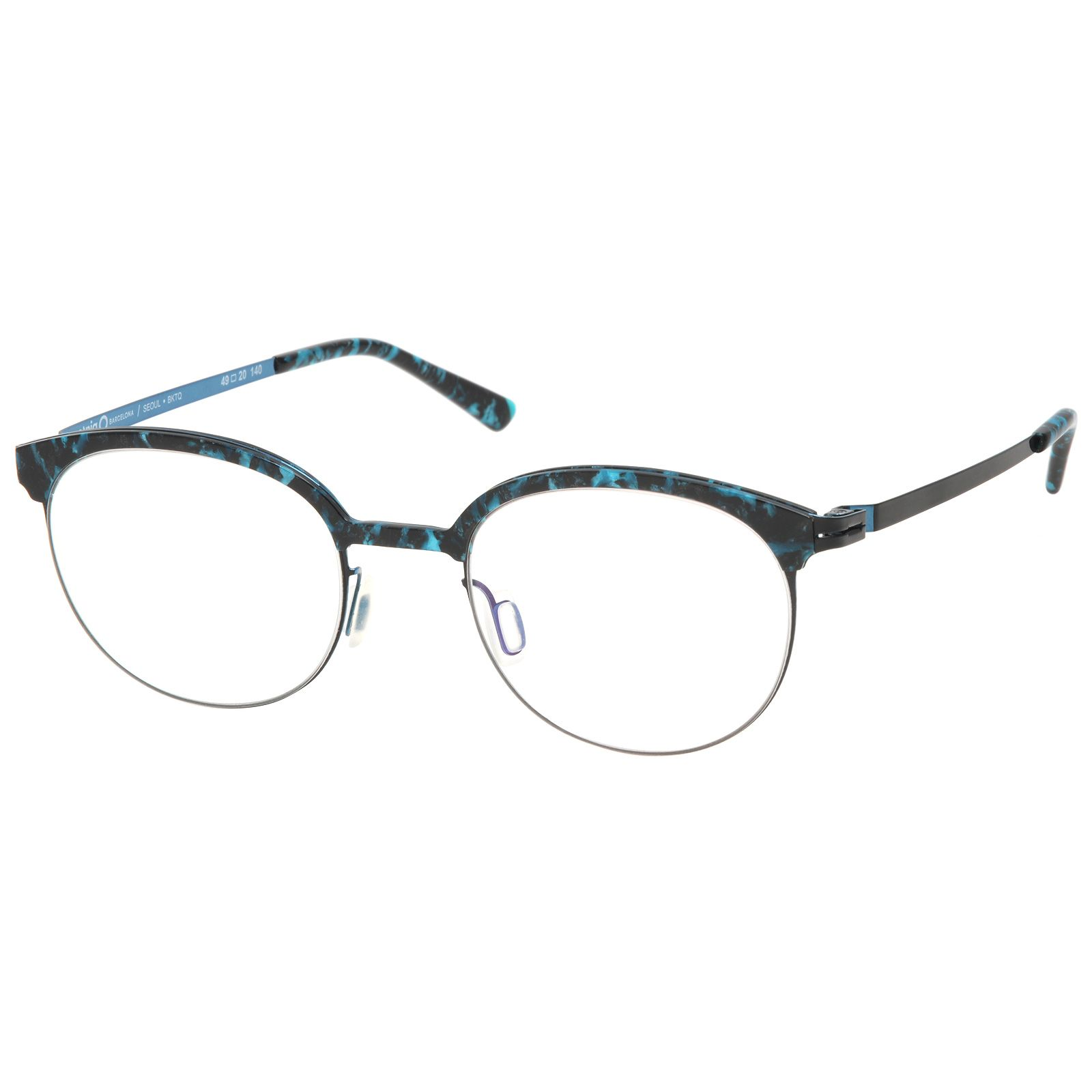 Etnia Seoul BKTQ Black Turquoise #etniabarcelona #brille #eyewear ...