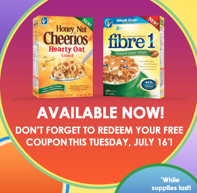 get free coupons for delicious cereal and bars from made delicious while supplies last
