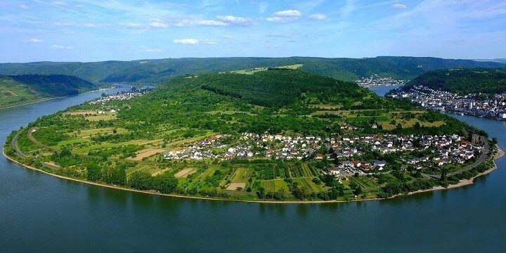 Rhine Valley, Rhineland-Palatine, central Germany