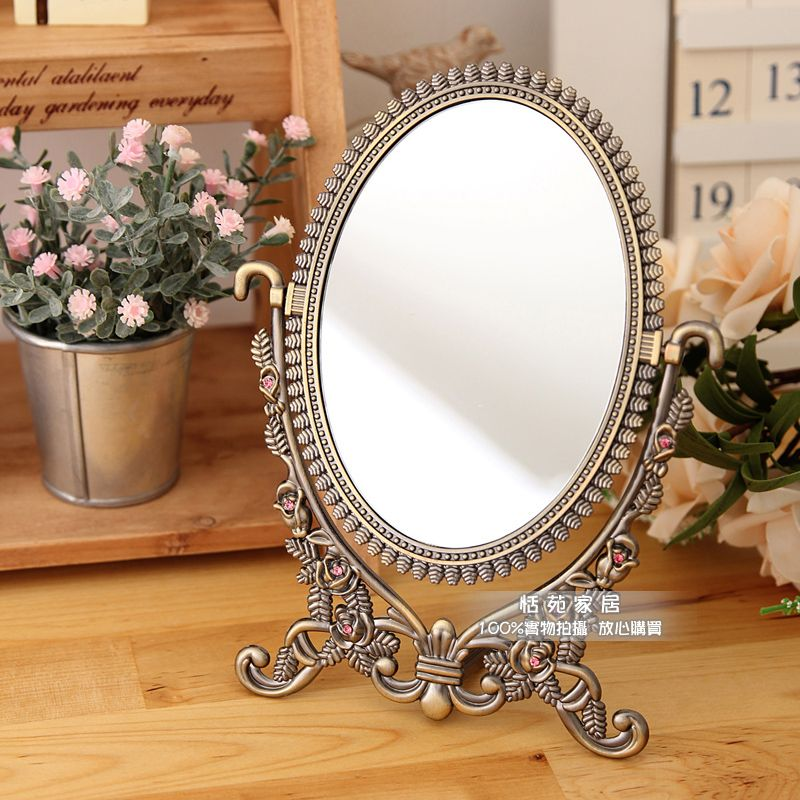 Cheap mirror magnet, Buy Quality mirror design directly from China mirror  with key hooks Suppliers: Fashion copper alloy vintage vanity mirror  adjustable ... - Love This Vintage-looking Makeup Mirror For The Home Pinterest