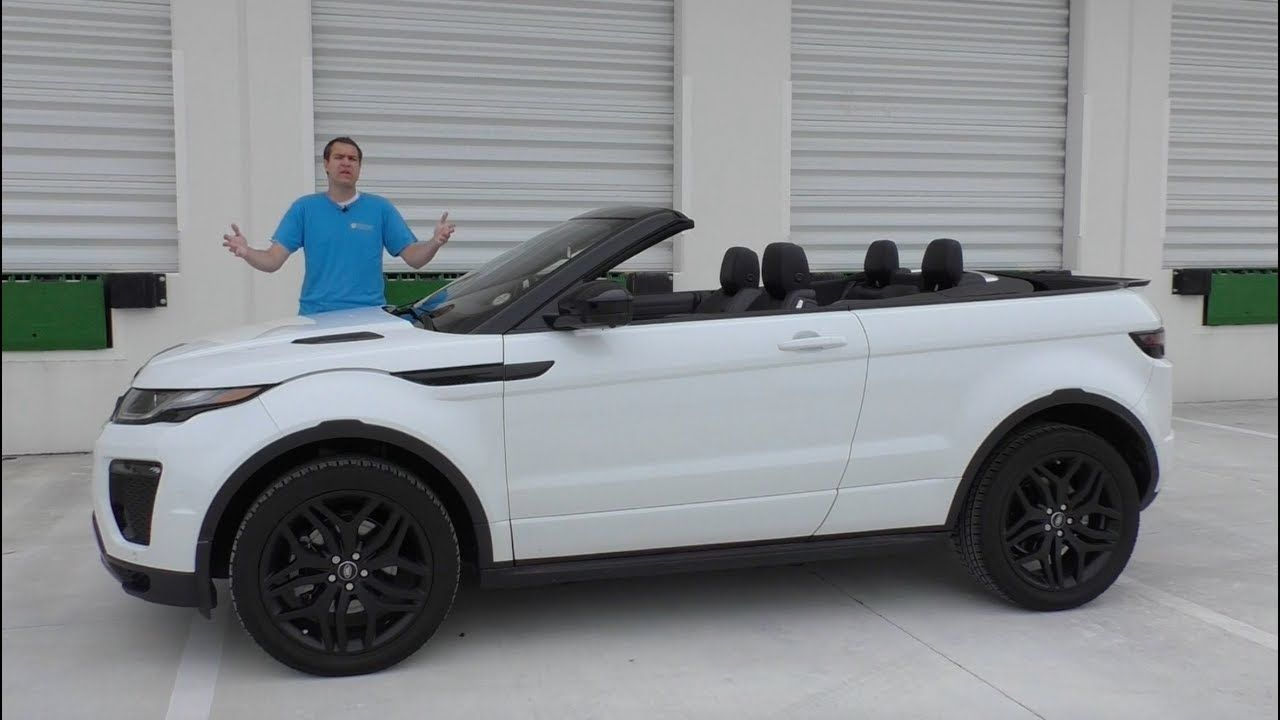 I Can't Believe The Range Rover Evoque Convertible Costs