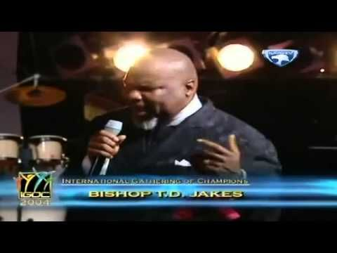 The Lord Is My Light  Bishop TD Jakes....Oh Yes He Is!!!