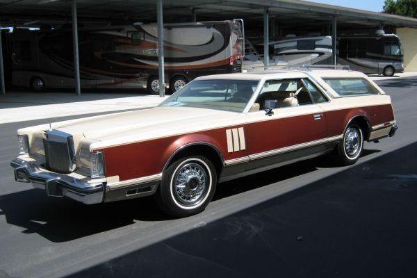 Wayne Newton's Wagon: 1978 Lincoln Mark V