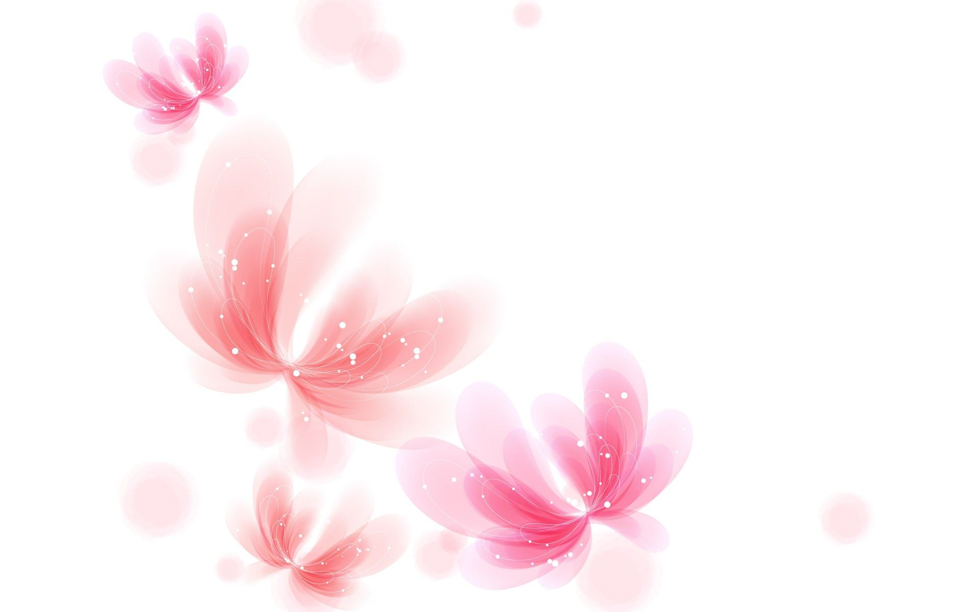 Pink White Background Desktop Background Pinterest White