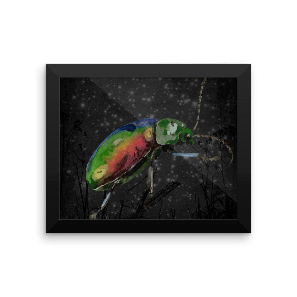 The Scarab Beetle Framed Print Beetles Egyptian And Printing