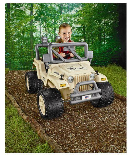 Power Wheels Camo Jeep By Fisher Price 199 99 From The Manufacturer The Power Wheels Camo Jeep Had A Sing Power Wheels Ride Ons Military Jeep