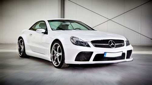 "Mercedes Benz SL R230 ""Black Series"" conversion kit:"