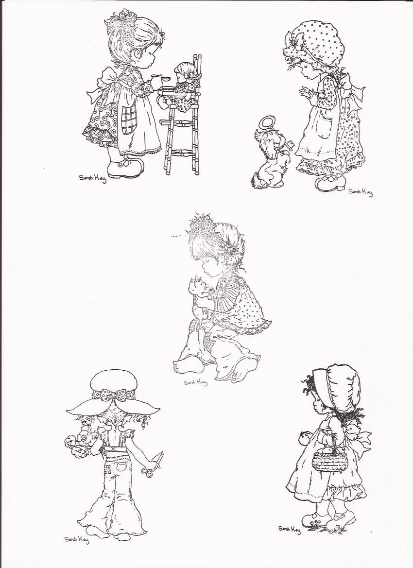 Coloriage Sarah Kay Cookie Bebe Charlotte Aux Fraises Page 33 Sylvie La Fee Kleurplaten Prints Stempelen