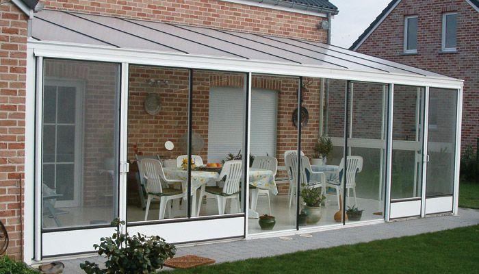Como cerrar terrazas acristaladas casa porches - Ideas para cerrar una terraza ...