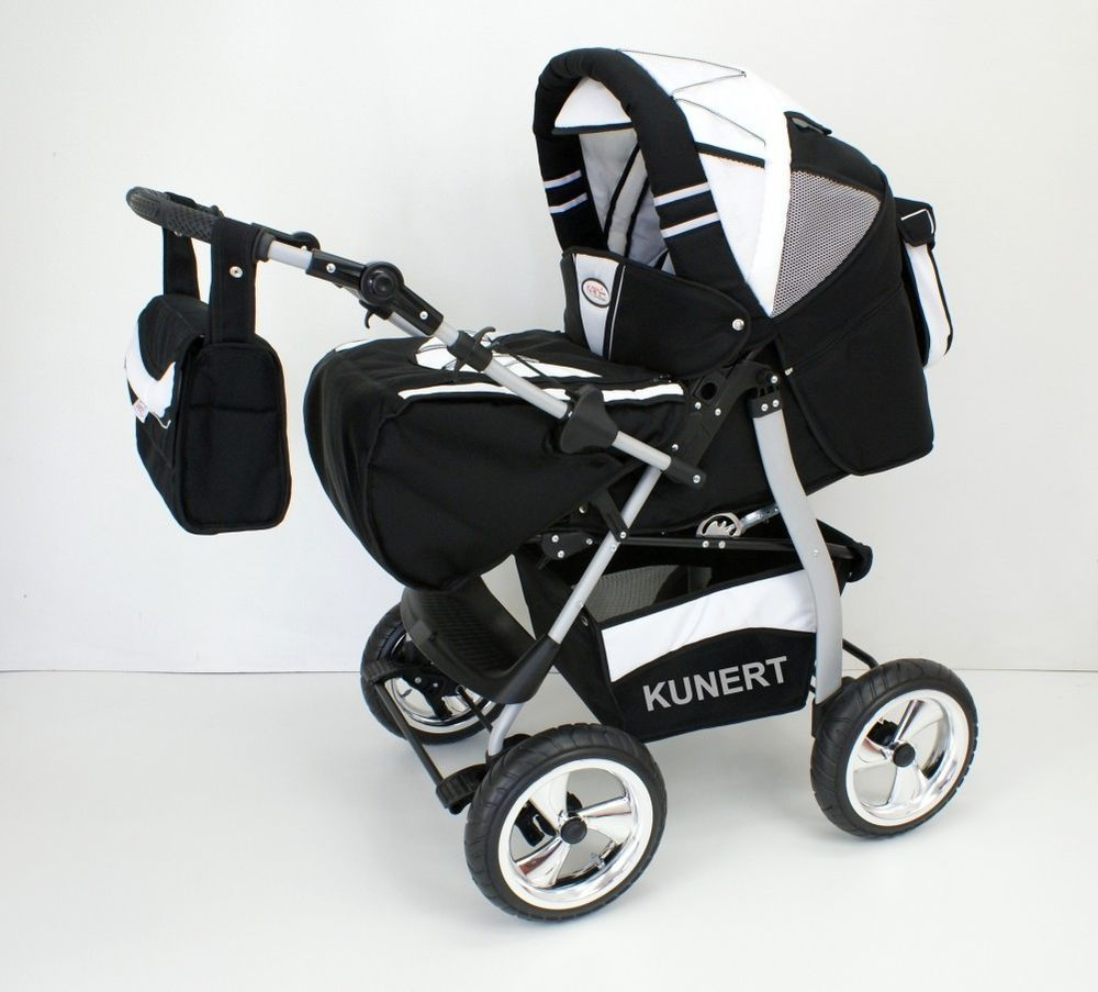VIP 3 in 1 Baby Pram Stroller Pushchair Travel System