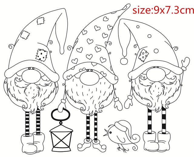 Photo of Online Shop Santa Claus stamp Shape Metal Cutting Dies for Scrapbooking DIY Album Embossing Folder Paper  Template Decor Stencils | Aliexpress Mobile