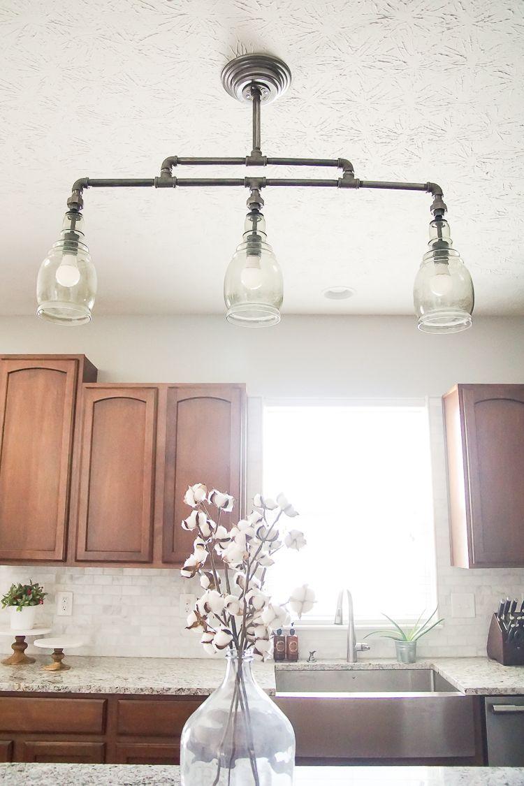 Elegantes badezimmerdekor pipe fitting project lamp diy industrial lamp  farmhouse chic