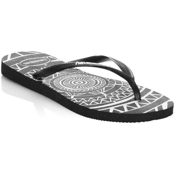 39c118171b50 Havaianas Slim Mandala Flip Flops ( 30) ❤ liked on Polyvore featuring shoes