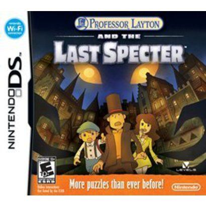Professor Layton and the Last Specter.