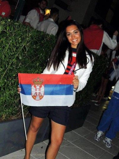 Serbian girls in action