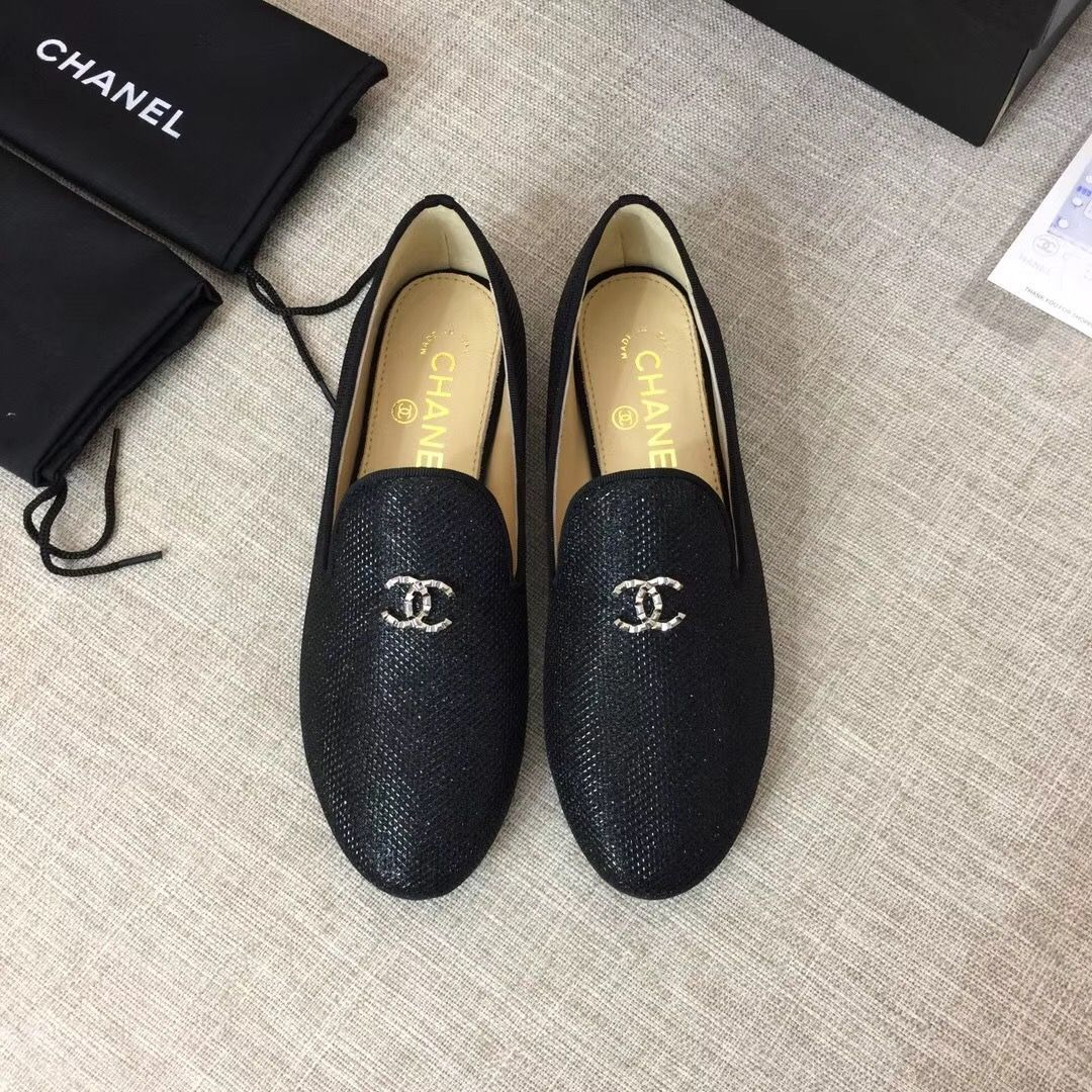Women oxford shoes, Chanel loafers
