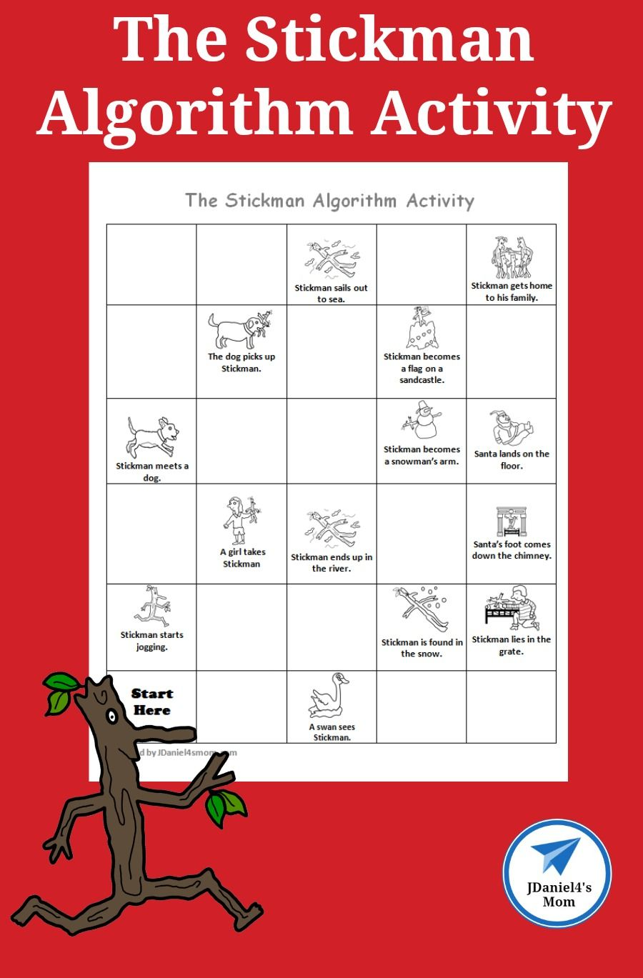 Your Children Will Have Fun Putting The Events From The Story The Stickman In Order By Building Kids Learning Activities Fun Activities For Kids Teaching Kids [ 1369 x 900 Pixel ]