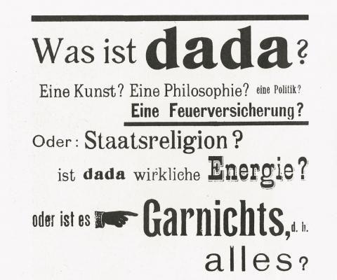 dadaismus merkmale