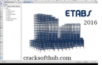 ETABS 2017 Crack | Full | Software, Key, Design