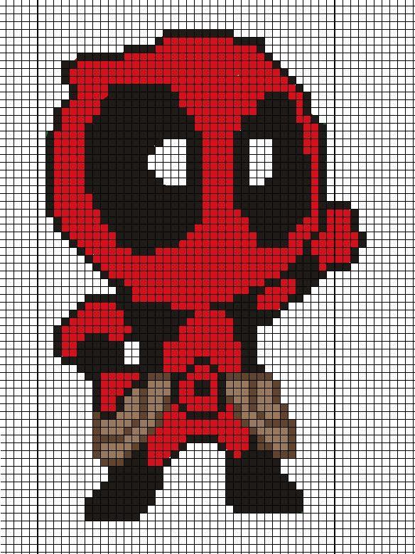 Resultat De Recherche D Images Pour Pixel Art Personnage Marvel Cross Stitch Pixel Art Minecraft Pixel Art